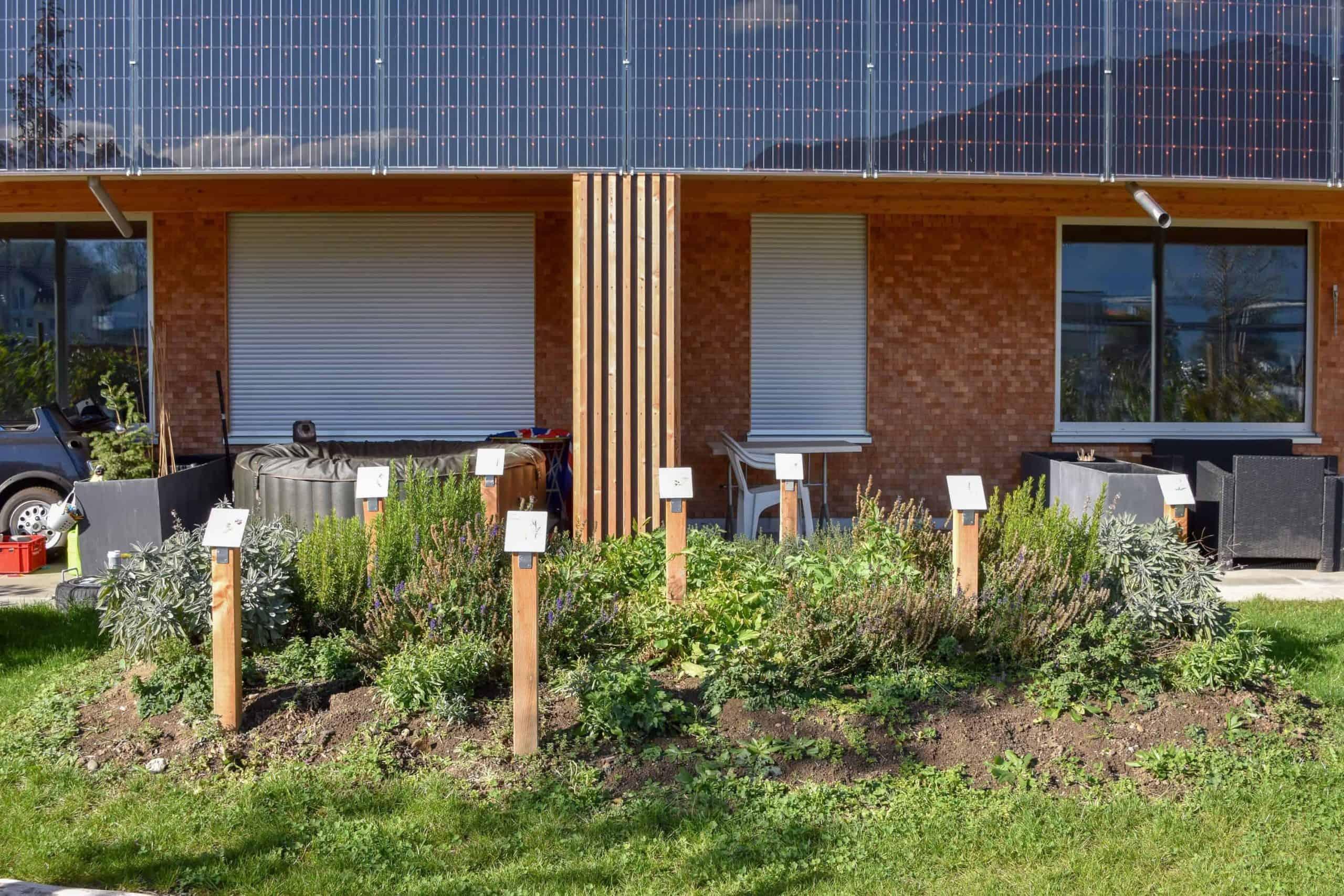Umgebungsgestaltung Solarhäuser Reichenburg 8