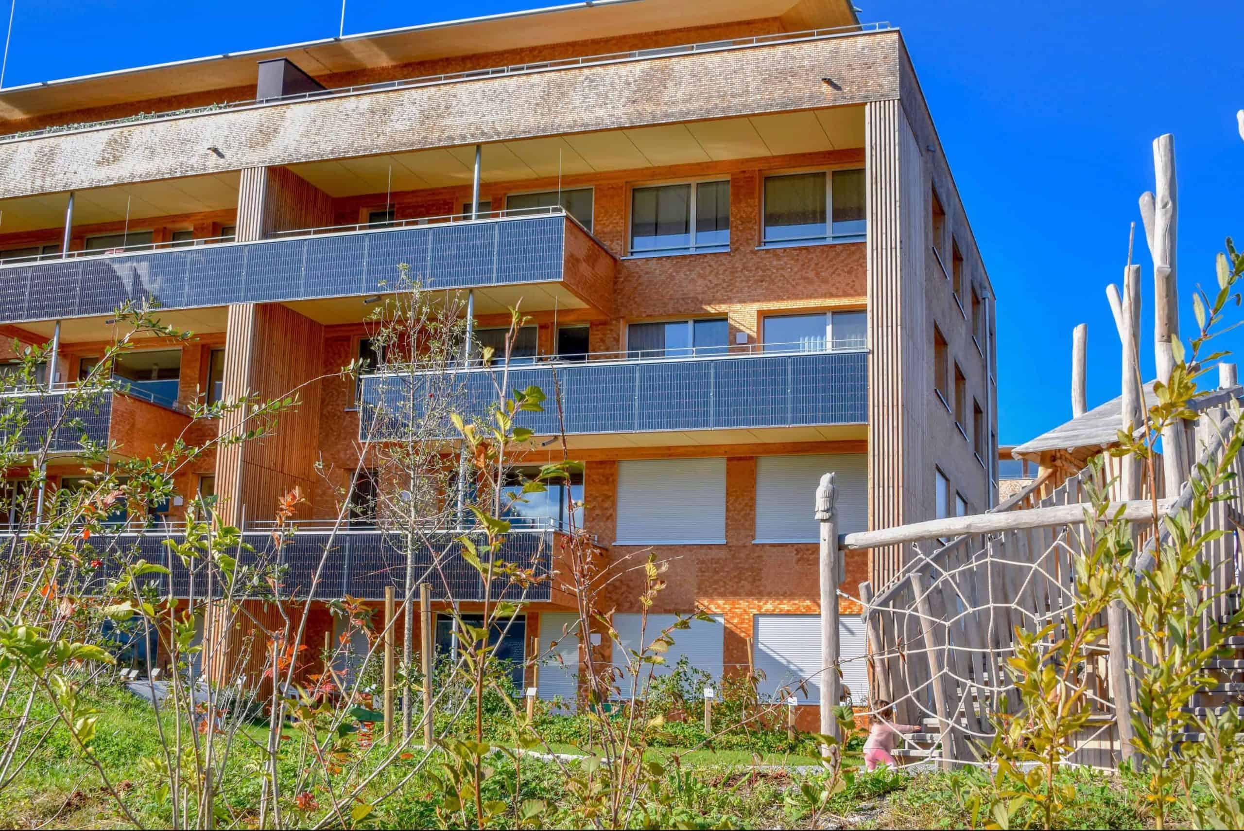 Umgebungsgestaltung Solarhäuser Reichenburg 4