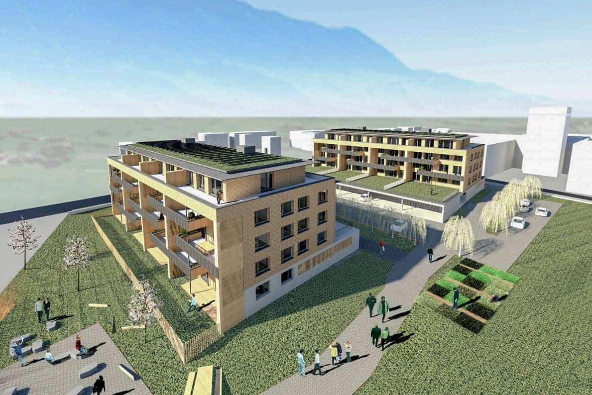 Umgebungsgestaltung Solarhäuser Reichenburg 5