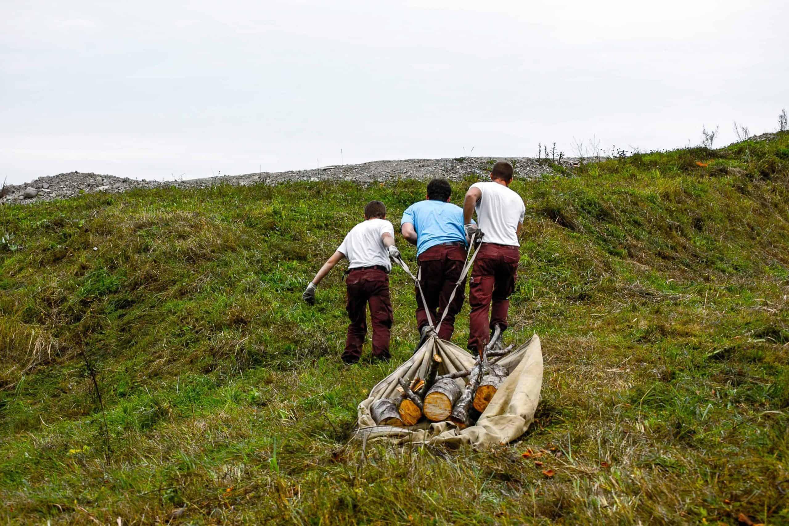 Stiftung Lebensraum Linthebene: Zivildienst im Naturschutz 11