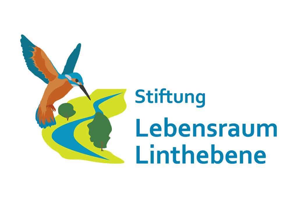 Logo der Stiftung Lebensraum Linthebene