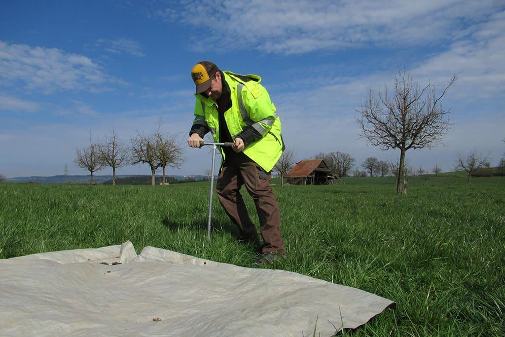 Feldarbeiten Bodenschutz